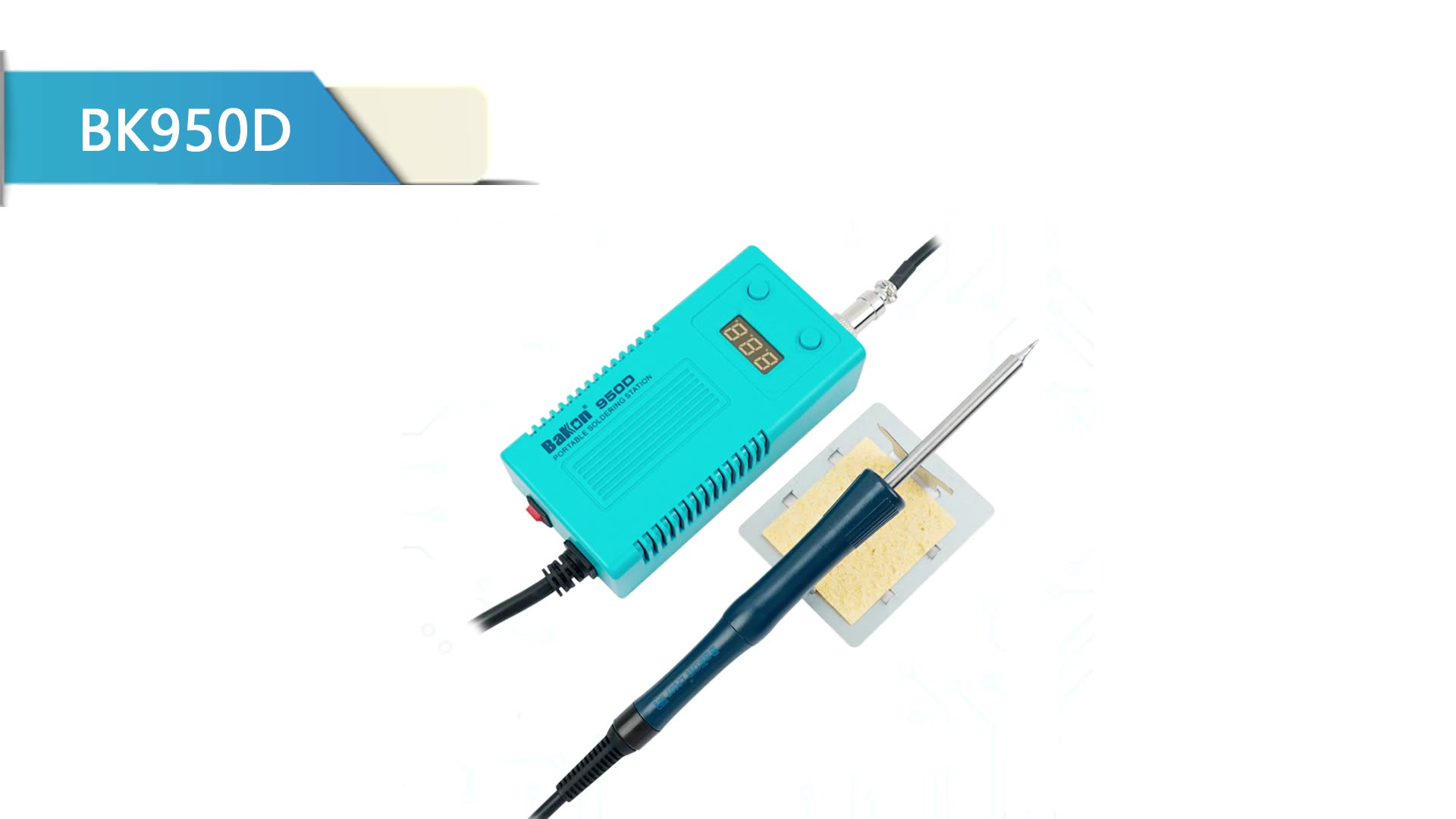 BAKON BK950D Practical and convenient ultra modern 2020 soldering iron station