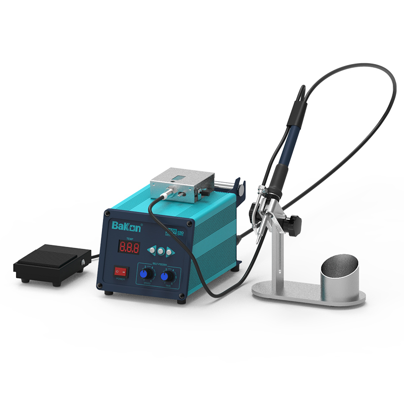 2 in 1 Soldering station soldering wire feeder