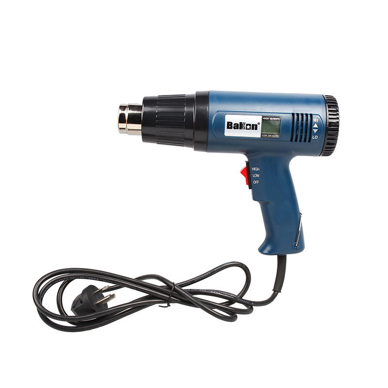 Bakon BK8016 mini handheld lcd hot air gun