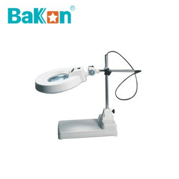22W desktop magnifying glass with light stand BK500 3x,5x,8x,10x,15X magnification