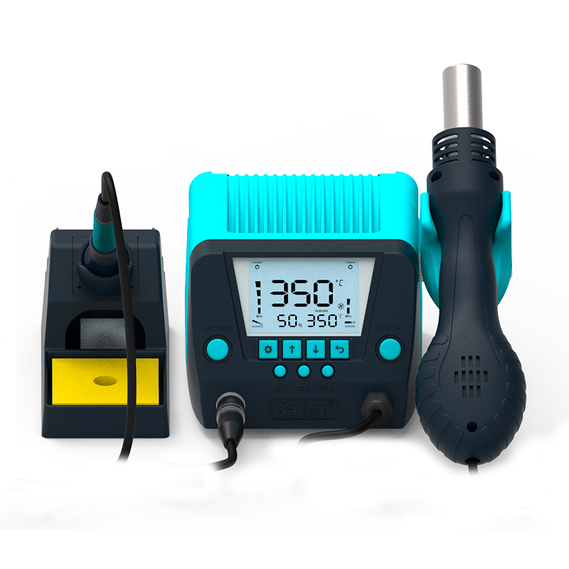 Bakon BK881 hot air gun with soldering station iron