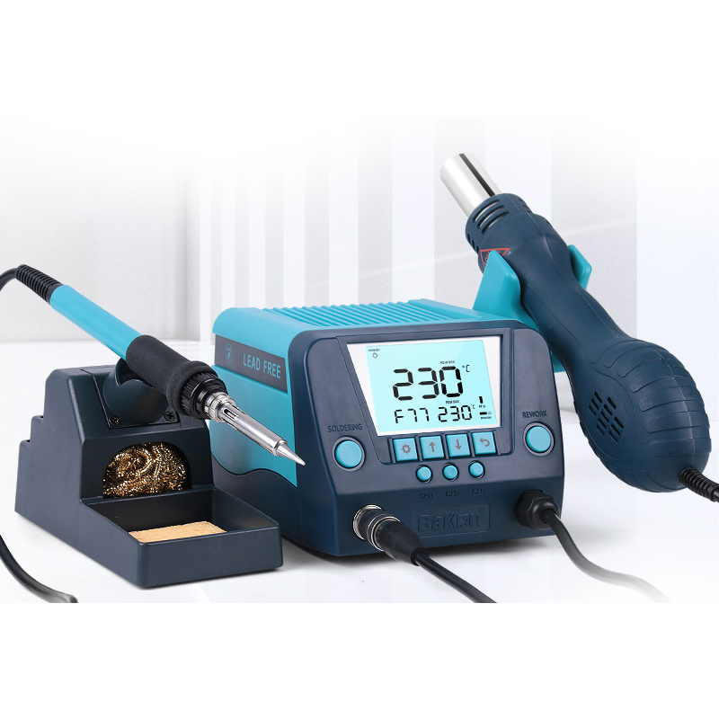 Bakon lcd smart lead-free welding soldering station